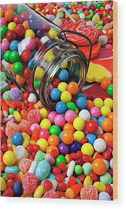 Candy Jar Wood Prints