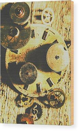 Inside Wood Prints