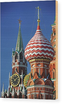 Moscow Wood Prints