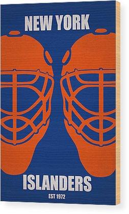 New York Islanders Wood Prints