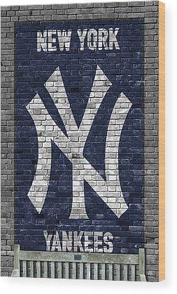 New York Yankees Wood Prints