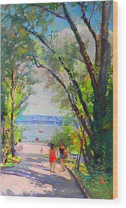 Hudson River Wood Prints