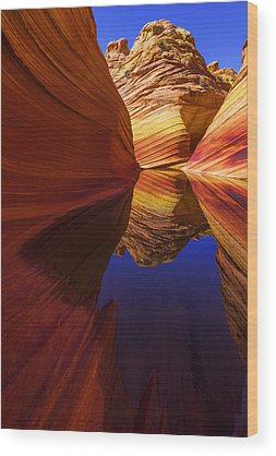 Vermilion Cliffs Wood Prints