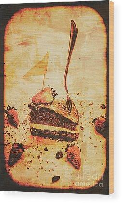 Confectionery Wood Prints