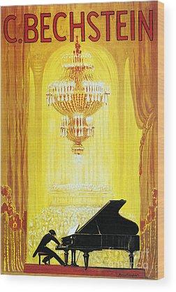 Grand Piano Wood Prints