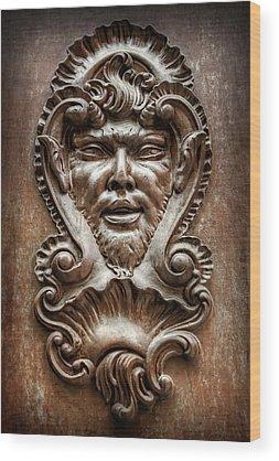 Door Knockers Wood Prints