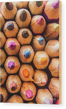 Colored Pencil Drawings Wood Prints