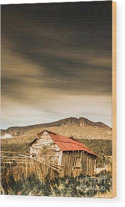 Abandonment Wood Prints
