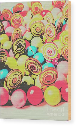 Confectionery Wood Prints