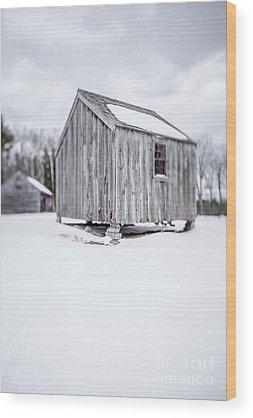 Corn Crib Wood Prints