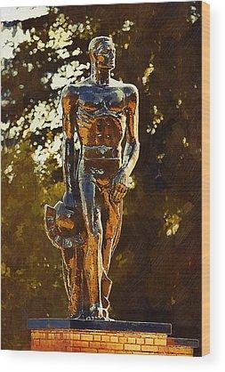 Michigan State Wood Prints