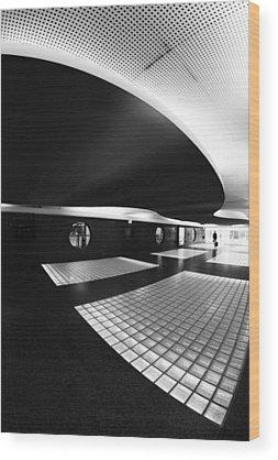 Airport Wood Prints