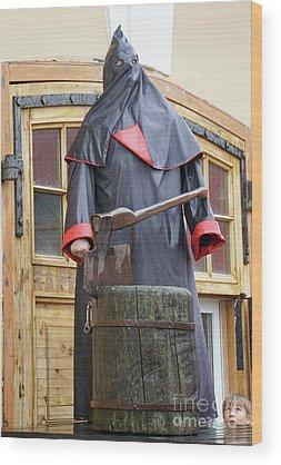 Axeman Wood Prints