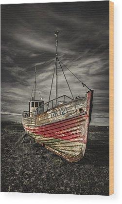 Ghost Ship Wood Prints