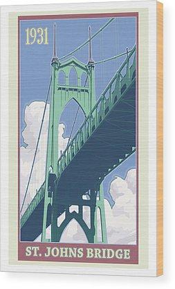 Oregon Wood Prints