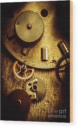 Mechanism Wood Prints