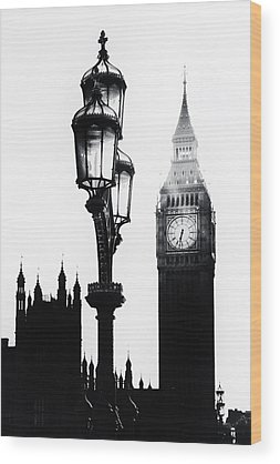 Palace Of Westminster Wood Prints