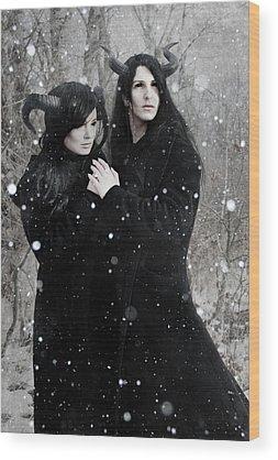 Loving Couple Wood Prints