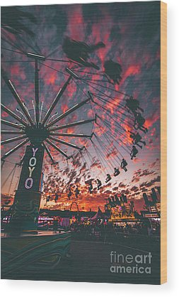 County Fair Wood Prints