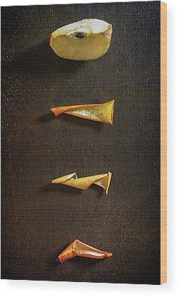 Apple Peel Wood Prints