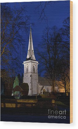 Lower Slaughter Wood Prints