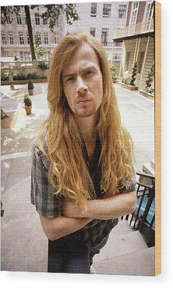 Megadeth Wood Prints