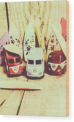 Transporter Wood Prints