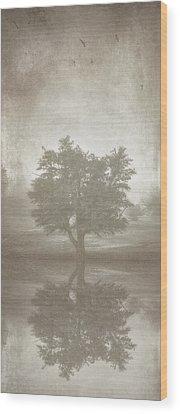 Green Shades Wood Prints