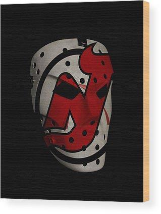 New Jersey Devils Wood Prints