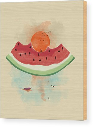 Watermelon Wood Prints
