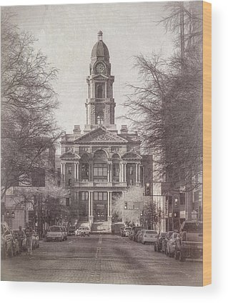 Courthouse Towers Wood Prints
