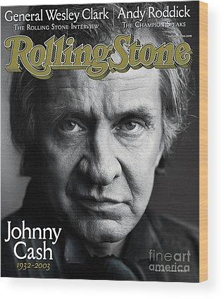Rolling Stones Photographs Wood Prints
