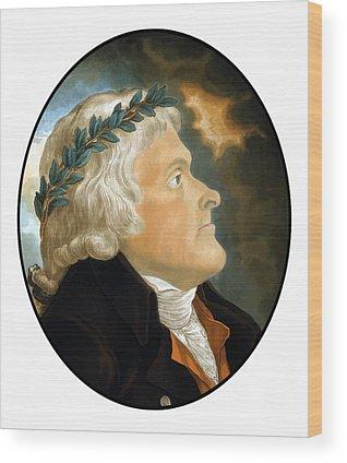 Monticello Wood Prints