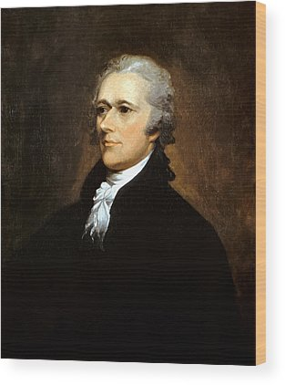 Founding Fathers Wood Prints