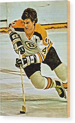 National Hockey League Wood Prints