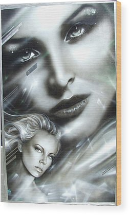 Charlize Wood Prints