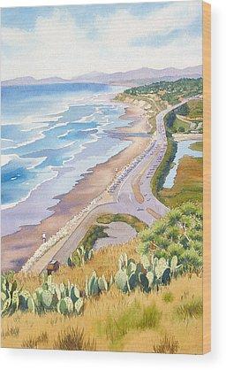 West Coast Wood Prints
