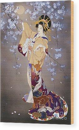 Japan Culture Wood Prints
