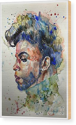 Prince Rogers Nelson Wood Prints