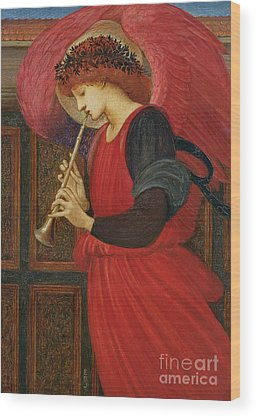 Edward Burne-jones Paintings Wood Prints