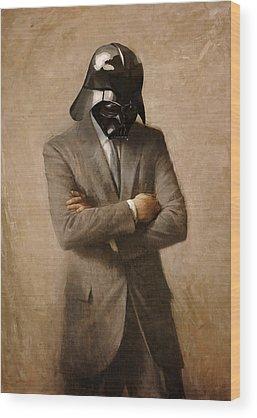 Darth Vader Wood Prints