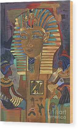 Pyramid Wood Prints