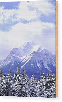 Blue Ridge Mountains Wood Prints