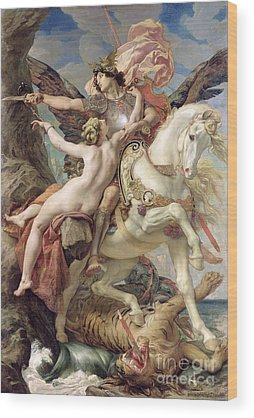Pegasus Wood Prints