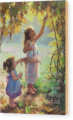 Bible Verse Wood Prints