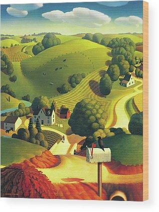 Farm Wood Prints