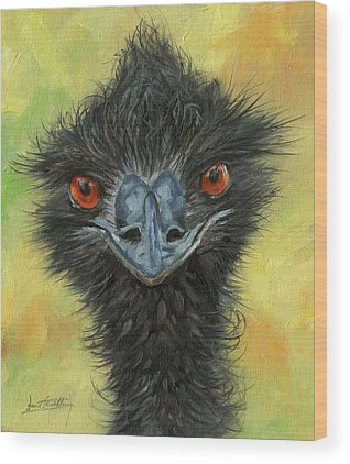 Emu Wood Prints