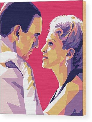 Evita Digital Art Wood Prints