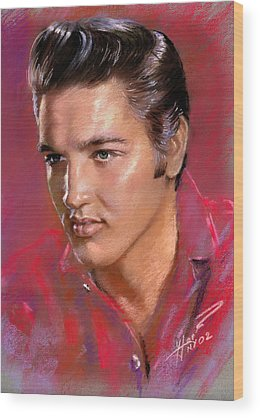 Elvis Presley Wood Prints