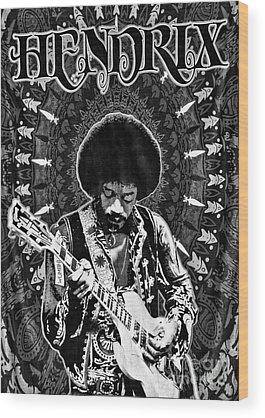 Designs Similar to Jimi Hendrix by Peter Dang